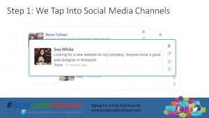 step1 -generating social media leads